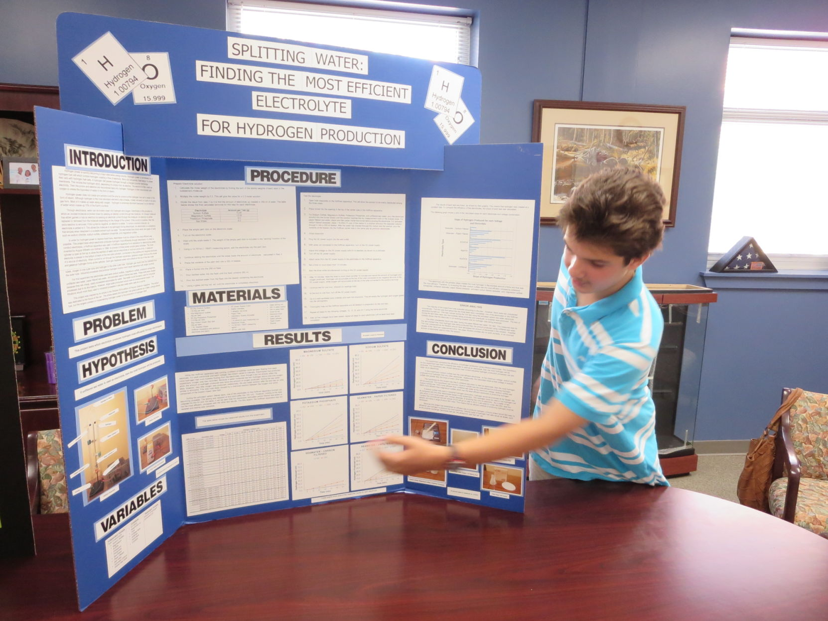 9th grade science fair project Instruct your ninth graders to complete a science fair project focused on one of science's four main disciplines students should keep a detailed log of their project progress, which will be.