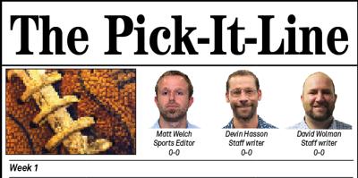 Pick It Line Week 1