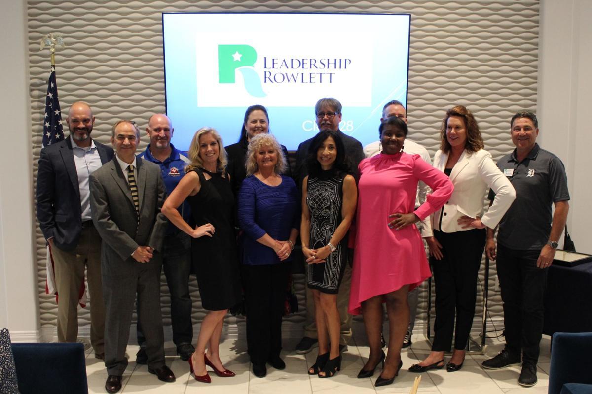 2019 Leadership Rowlett graduates class 28