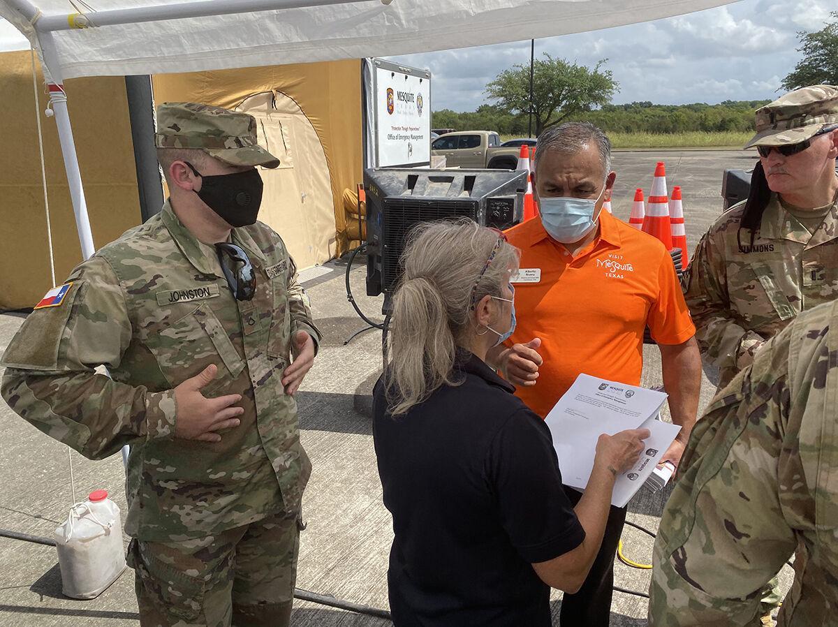 Mesquite closes reception center for Hurricane Laura evacuees