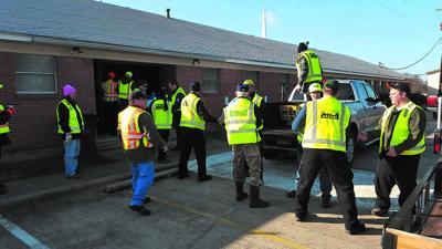 Rowlett CERT-Tornado cleanup
