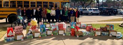 Mesquite ISD staff provided students with food, gifts