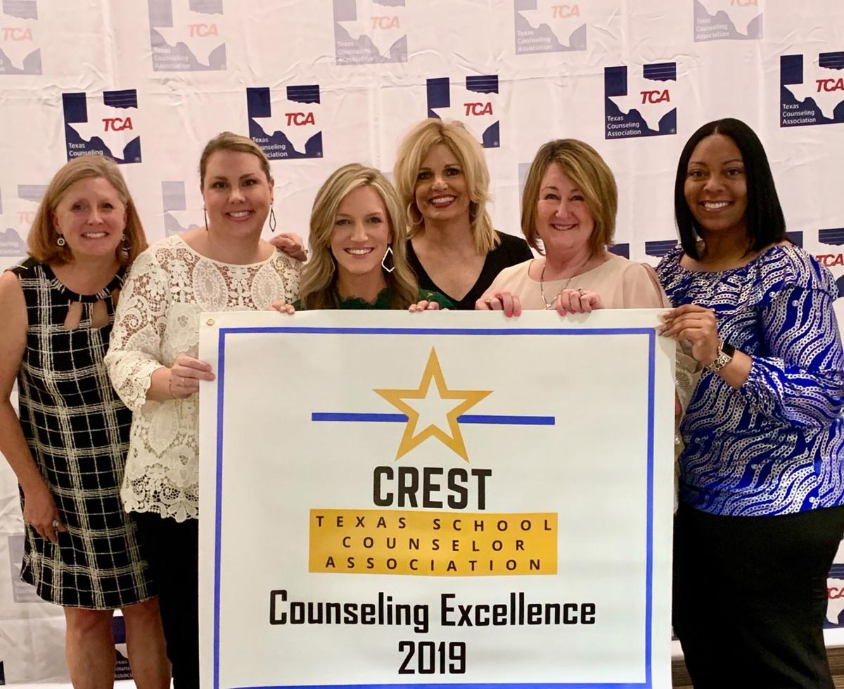 Mesquite's Poteet High counseling team earns CREST award