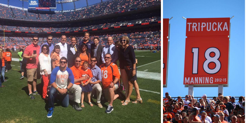 Banner day: Allen resident, family celebrate former NFL QB's ...
