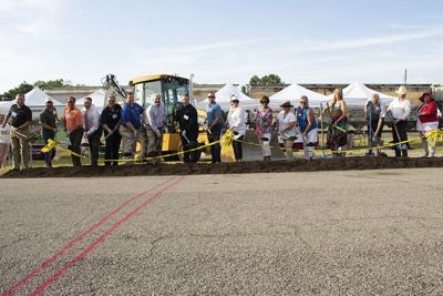 Celebrating a new step for downtown Mesquite