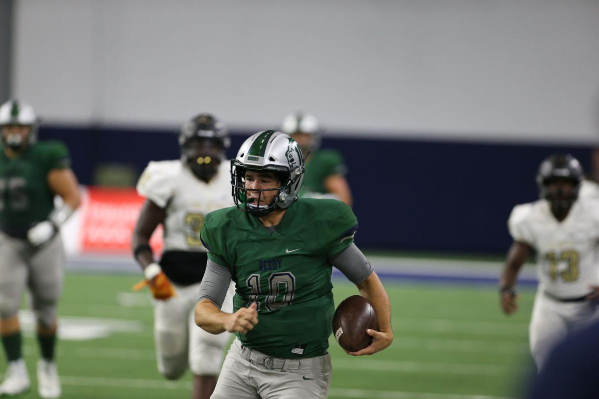 Reedy senior quarterback Josh Foskey