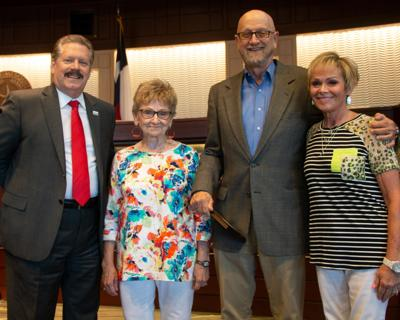 Mesquite council candidate recognized for volunteer service