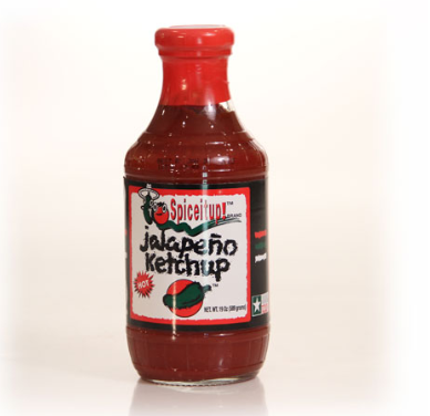 Spice it up ketchup