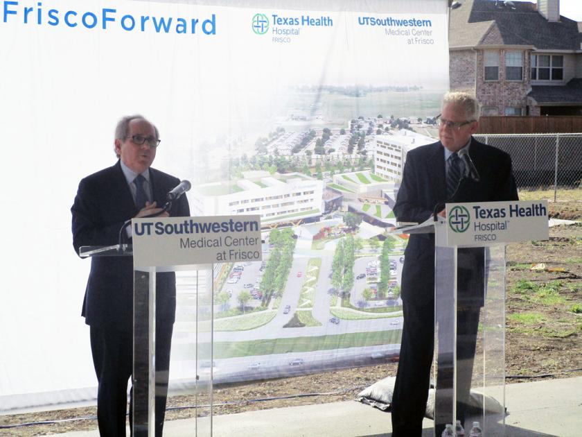 Officials celebrate halfway point of Texas Health Frisco