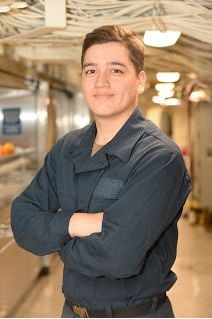 Forney native serves aboard Navy warship in San Diego