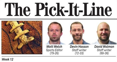 Pick It Line WEEK 12