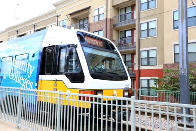 DART downtown Plano