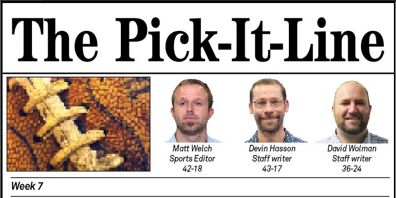 Pick-It Line Week 7 Title