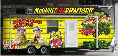 McKinney fire safety house