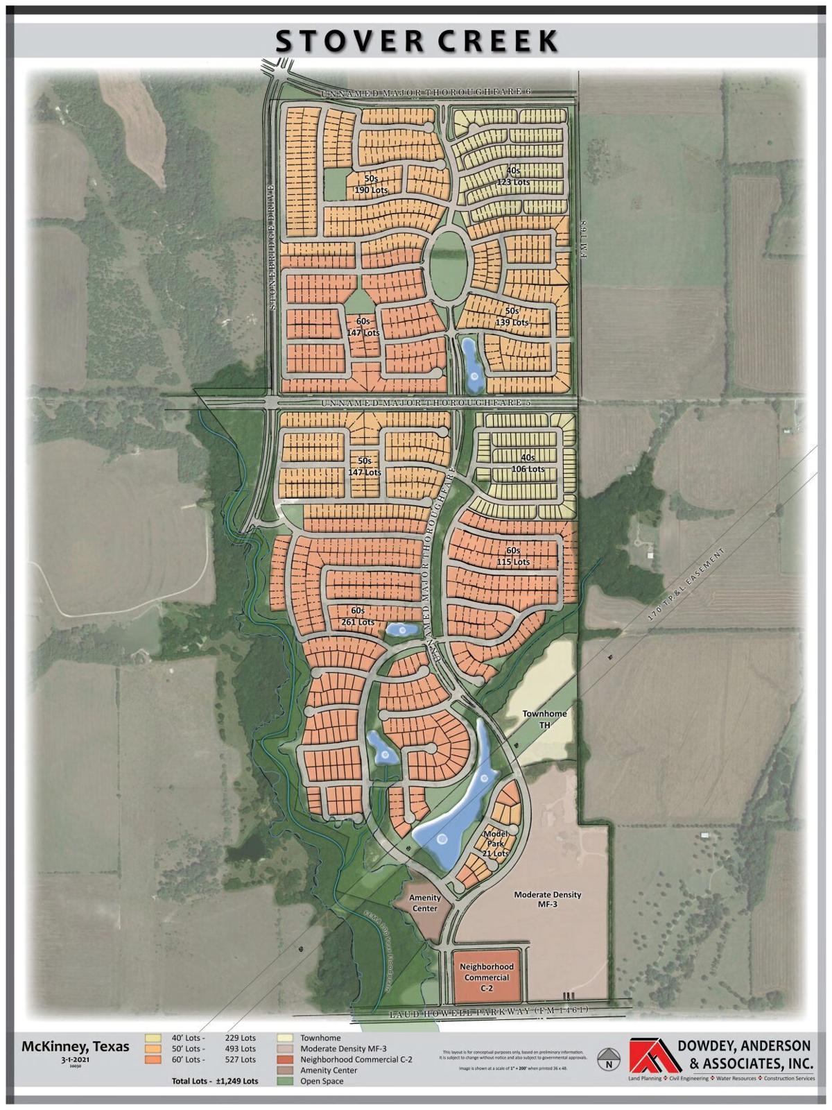 Stover Creek concept plan
