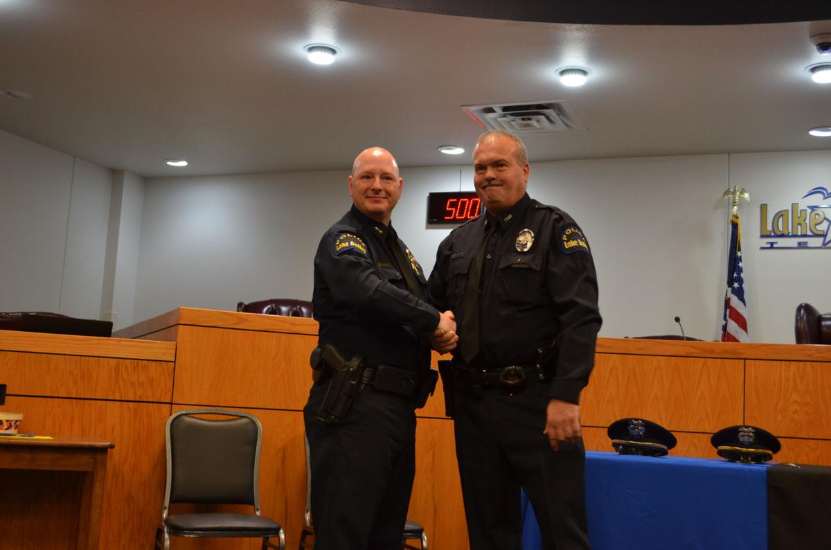 Lake Dallas Police Department debuts new badges | News
