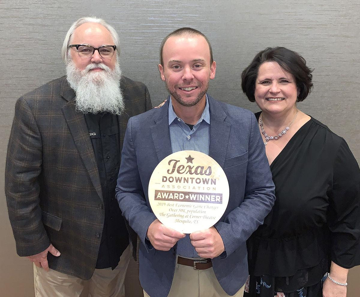 Downtown Mesquite garners two statewide awards