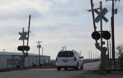 Frontier railroad crossing