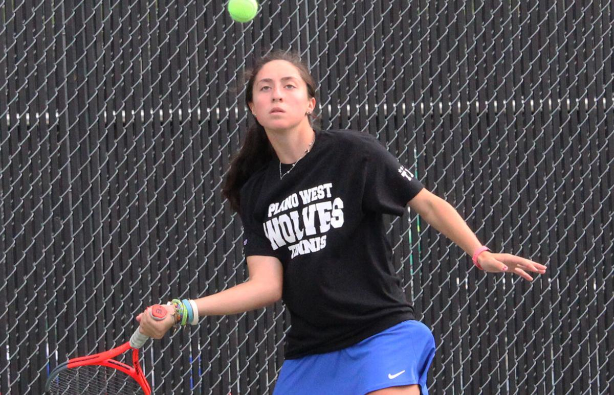 Opening serve: Plano West paces 6-6A tennis tourney; PISD, Coppell qualify athletes for regionals