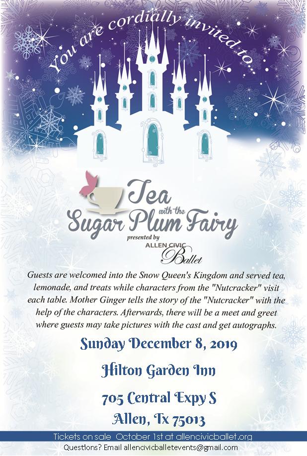 Tea with the Sugar Plum Fairy