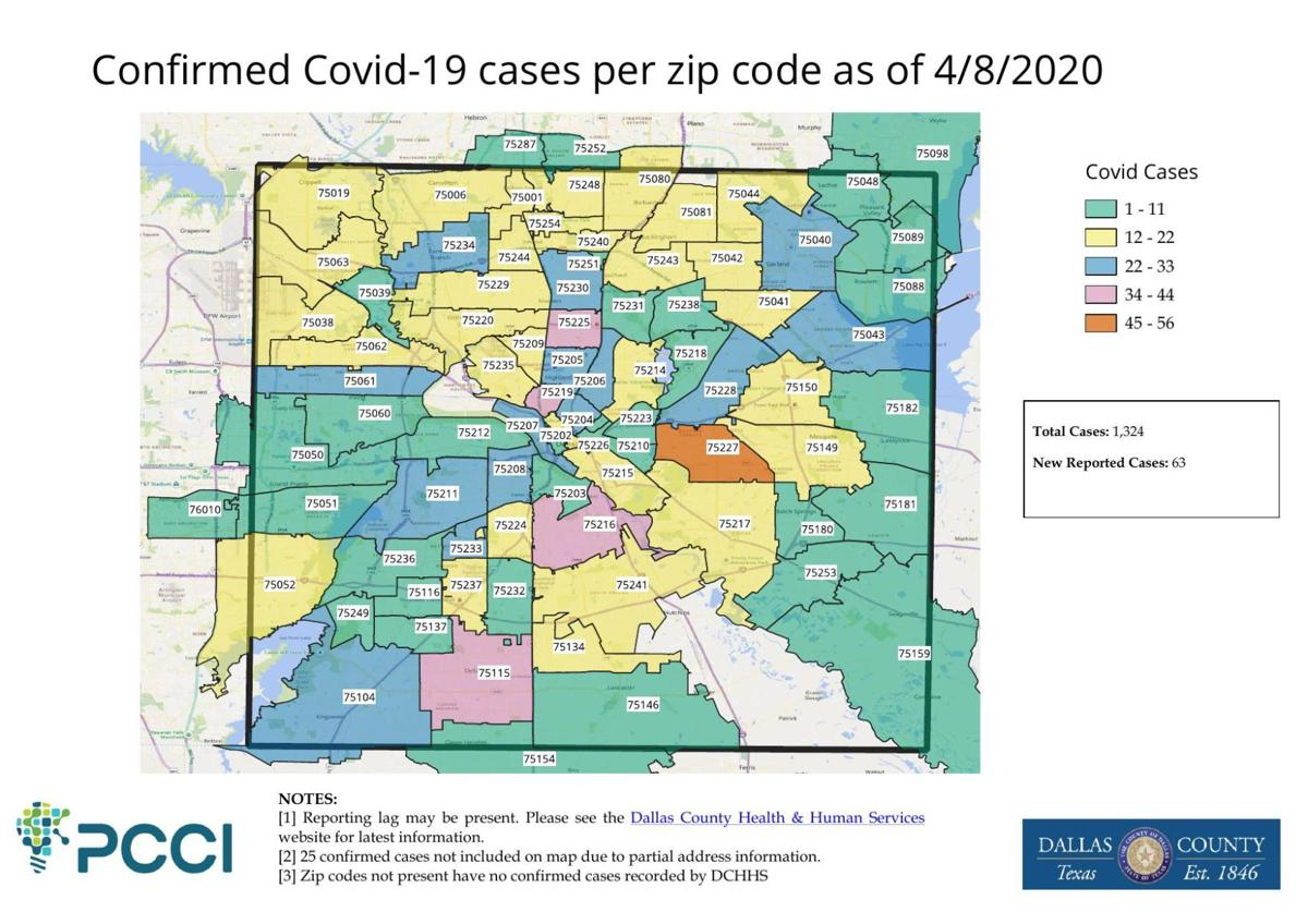 108 More Covid 19 Cases Reported For Dallas County 22 Deaths