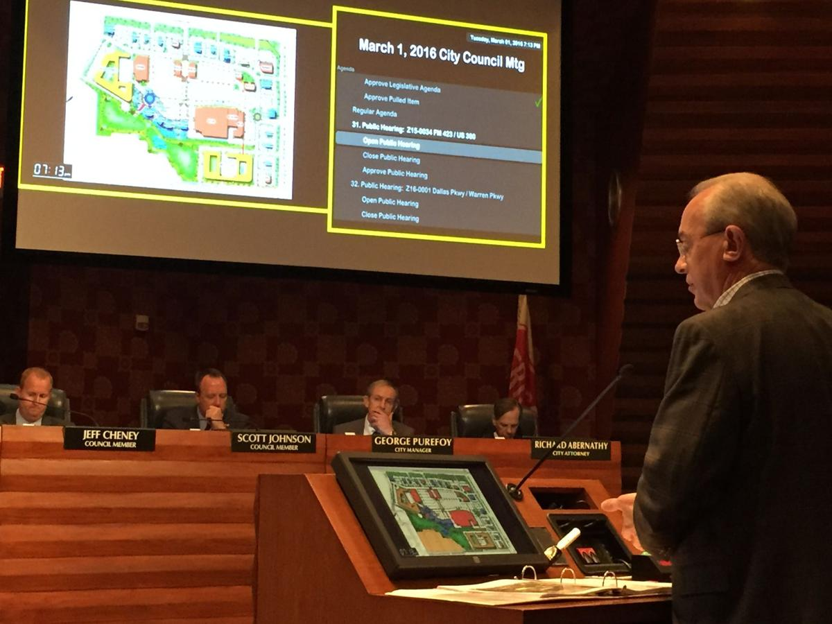 City Council considers Frisco Crossing development