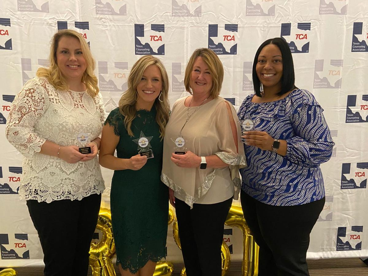Poteet High counseling team earns CREST award