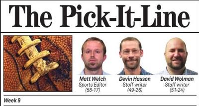 Pick It Line Week 9