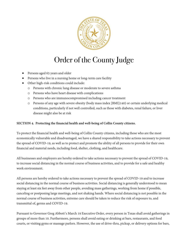 Executive Order 3