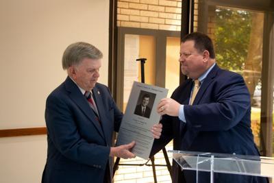 Mayor honored