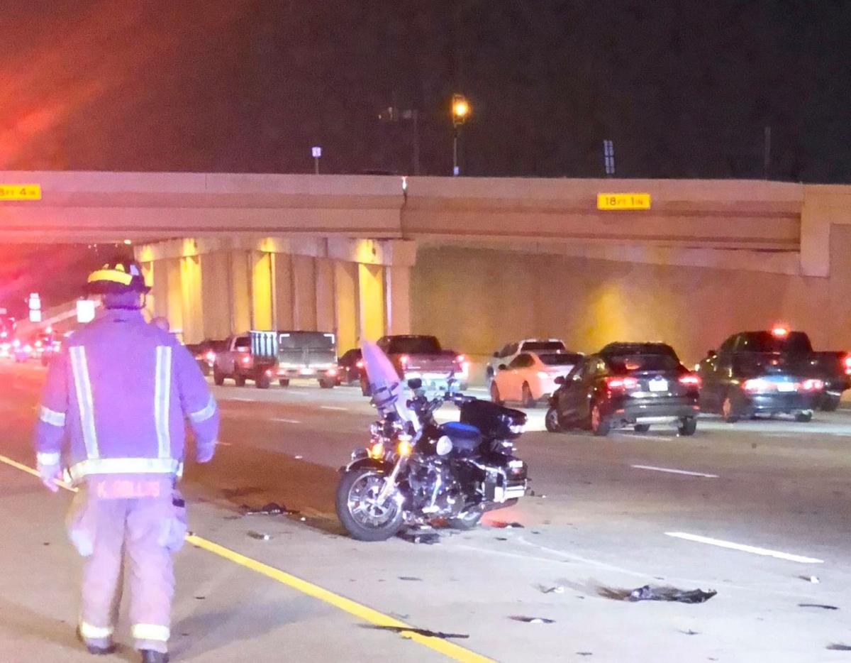 McKinney officer struck while working highway crash