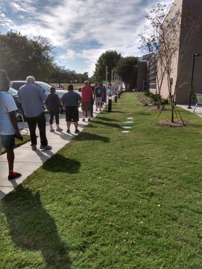 2020 early voting North Texas