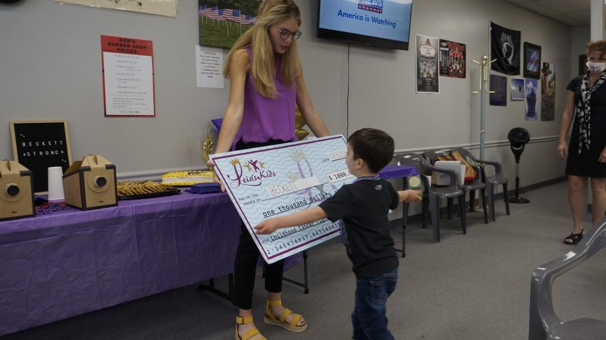 Childhood cancer survivor from Allen gives hope to families   News ...
