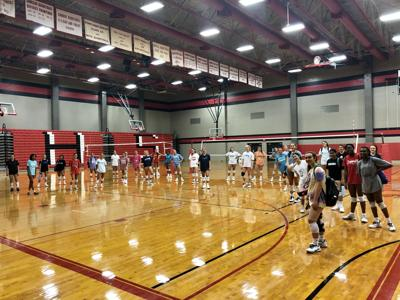 Coppell volleyball_summer workouts