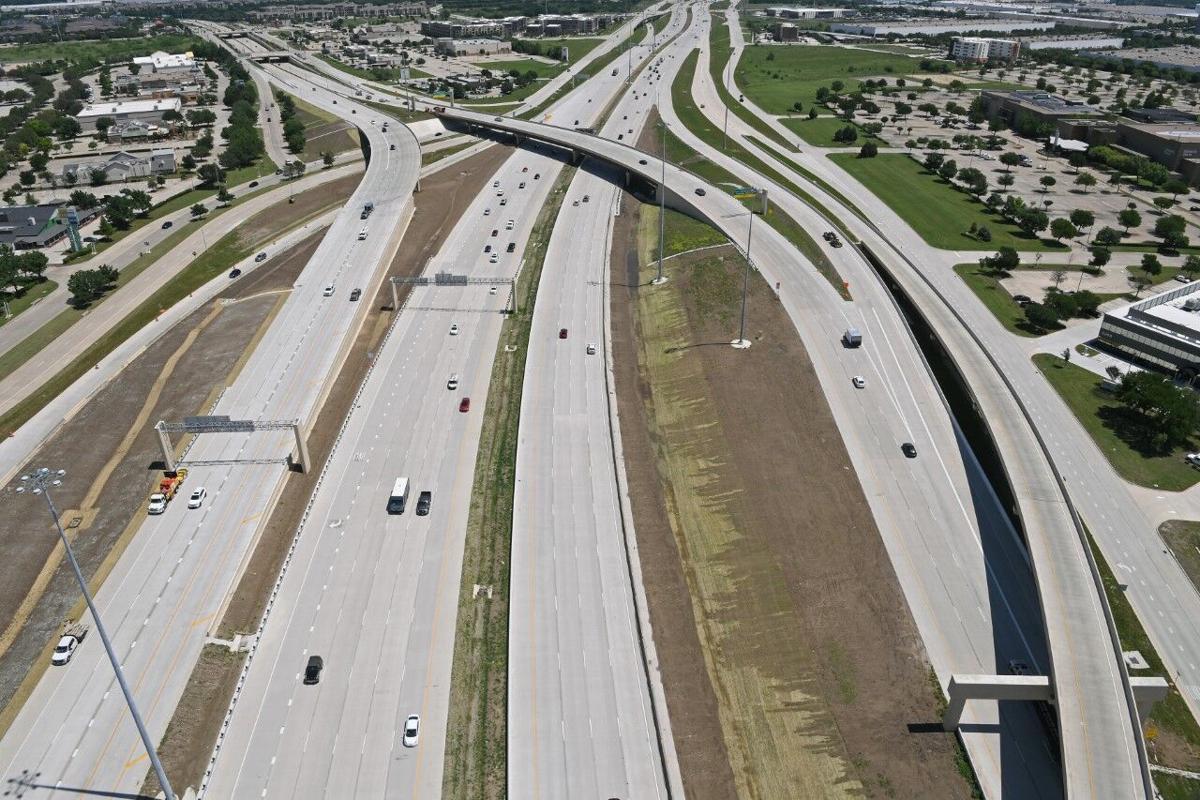 Officials celebrate I-635/SH 121 interchange project