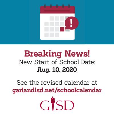 Garland ISD reopening plans