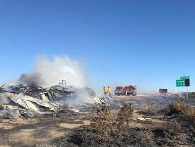 New Mexico fire