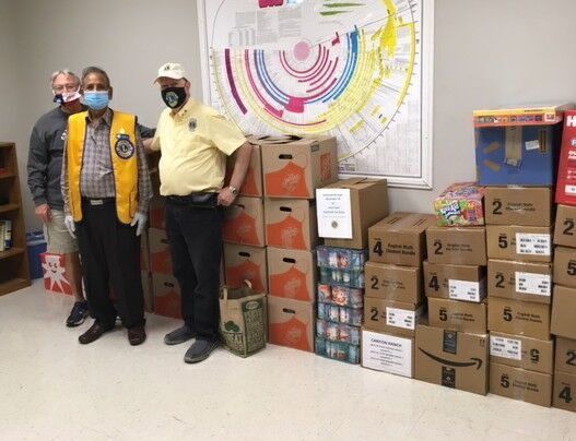 Coppell Lions Club collecting toys