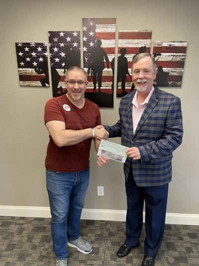 Rowlett Housing Finance Corporation donates to veteran cause