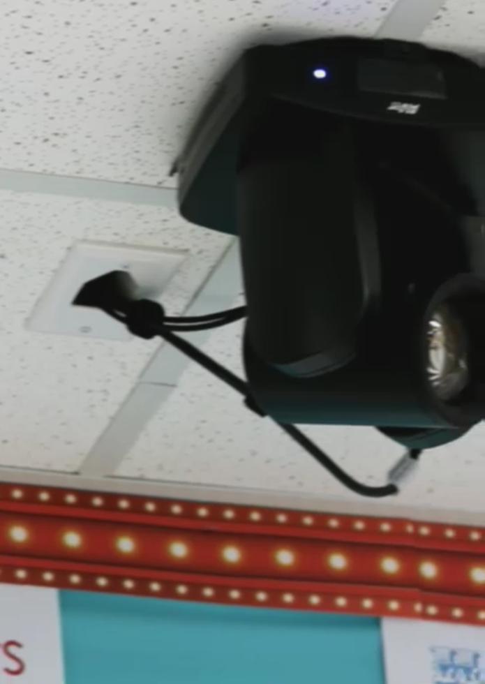 Donald Elementary auto positioning cameras