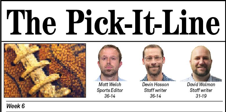Pick It Line Week 6 Title