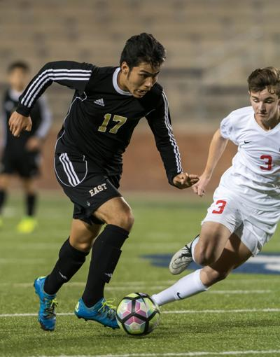 Boys Soccer: Plano East outlasts McKinney, 2-1, to take over