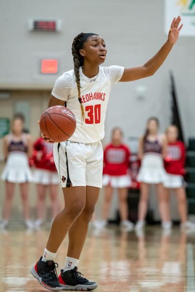 Liberty sophomore guard Jazzy Owens-Barnett