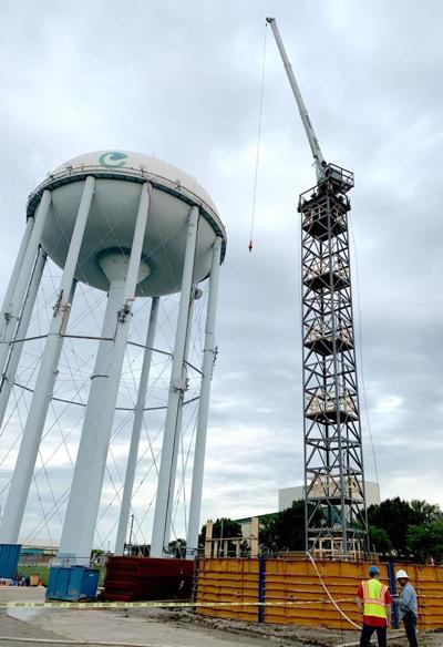 Carrollton water tower