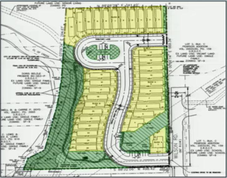 Rowlett proposed development