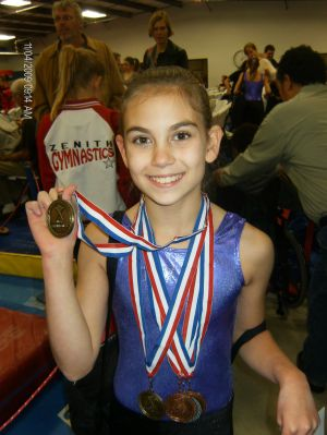 zenith gymnastics meet results online
