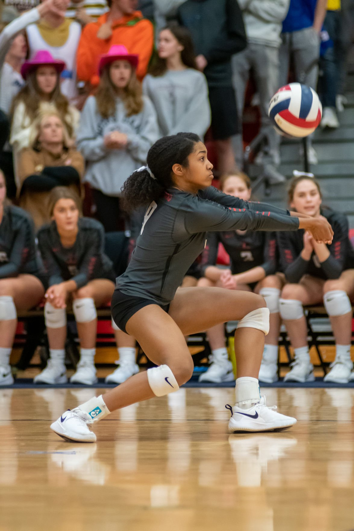 Liberty sophomore outside hitter Lauryn Hill