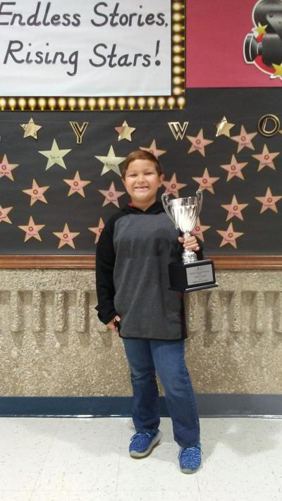 Rowlett's reading challenge winner: First-grader takes third in district reading challenge