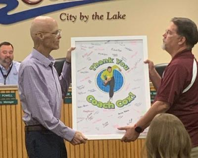 Gary Cox at The Colony City Council meeting