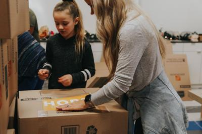 19 Ministries provides 500 Thanksgiving meals for families in need